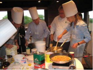 Culinary Connection Team Activities in Philadelphia