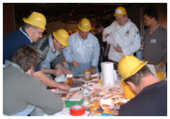 Team Building Chocolate Bridges Activities in Philadelphia