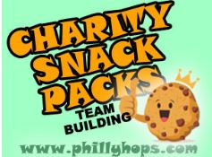 Corporate Charity Breakfast Snack-Pack Giveaway in Washington