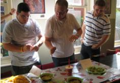 Team Guac and Salsa Challenge in NYC